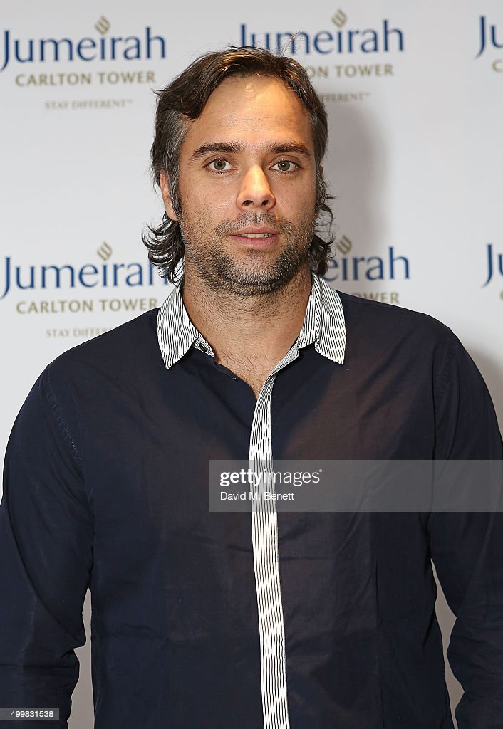 Fernando Gonzalez at the Champions Tennis players' party at Jumeirah Carlton Tower on December 3, 2015 in London, England.