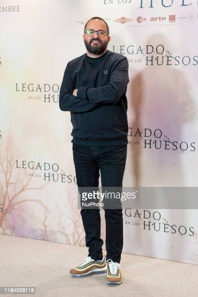 Fernando Gonzalez Molina attends the 'Legado en los huesos' photocall at Hotel Urso on November 25 2019 in Madrid Spain