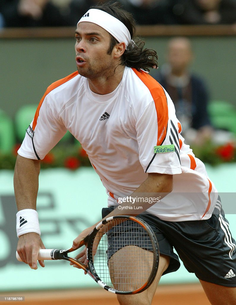 2006 French Open - Men's Singles - First Round - Marat Safin vs Fernando