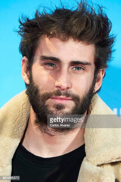 Fernando Guallar attends 'La Tribu' premiere at the Capitol cinema on March 12 2018 in Madrid Spain