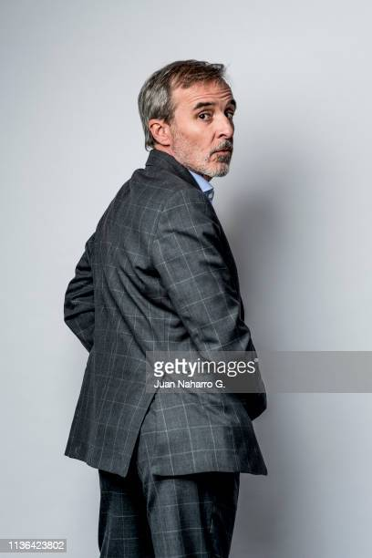 Fernando Guillen Cuervo poses for a portrait session at Teatro Cervantes during 22nd Spanish Film Festival of Malaga on March 15 2019 in Malaga Spain