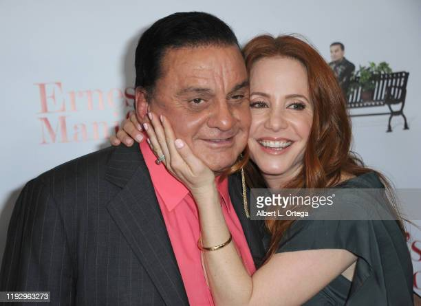 Fernando Hidalgo and Amy Davidson arrive for the Premiere Of Ernesto Manifesto held at TCL Chinese 6 Theatres on January 9 2020 in Hollywood...