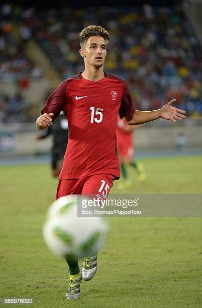 Fernando in action for Portugal during the Men's Group D first round match between Portugal and Argentina during the Rio 2016 Olympic Games at the...