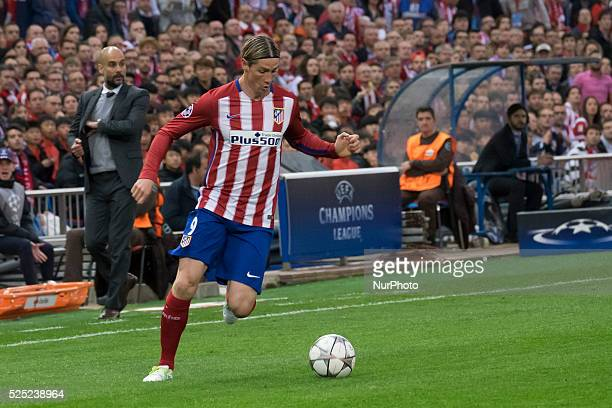 fernando jos torres sanz of Atletico de Madrid during the UEFA Champions League semi final first leg match between Club Atletico de Madrid and FC...