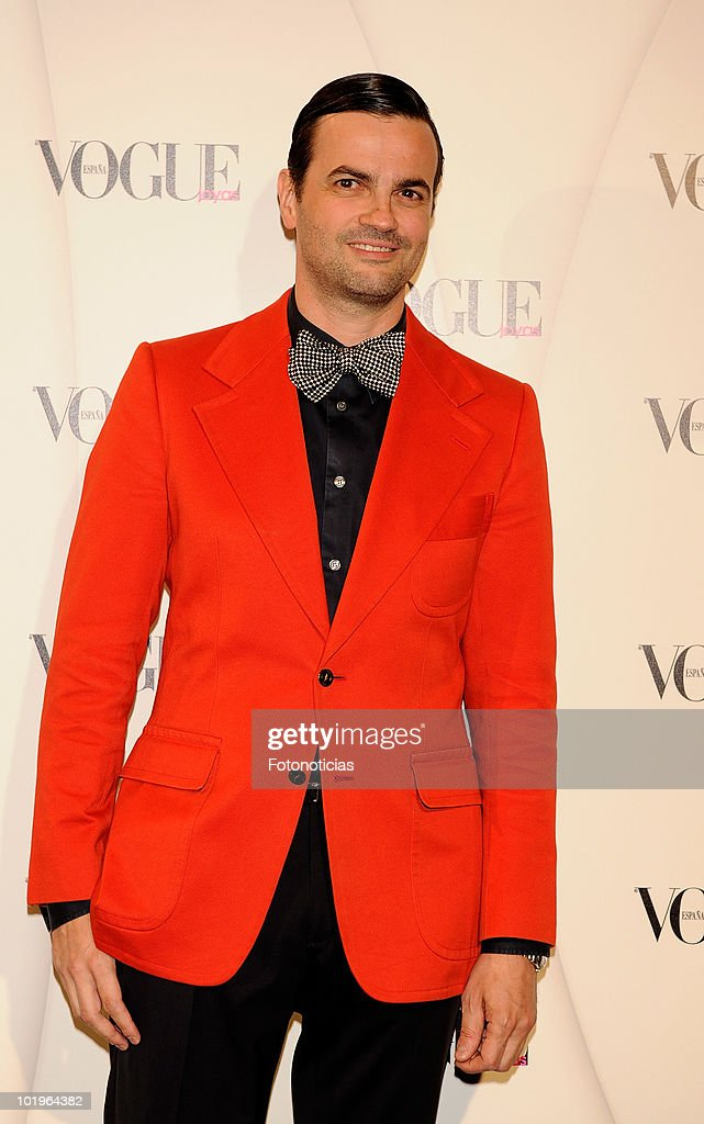Fernando Lemoniez arrives to the 'VII Vogue Joyas Awards' (VII Vogue Jewellery Awards) at the Madrid Stock Exchange Building on June 10, 2010 in Madrid, Spain.