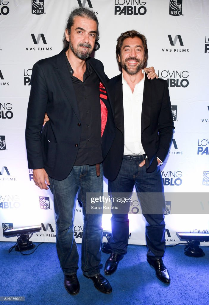 """RBC hosted """"Loving Pablo"""" cocktail party at RBC House Toronto Film Festival 2017"""