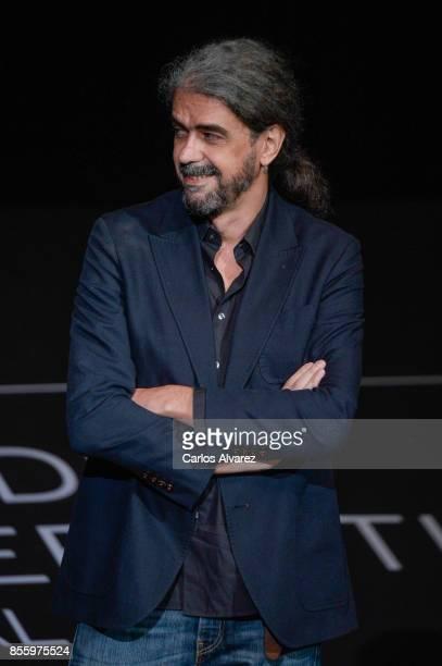 Fernando Leon de Aranoa attends 'Loving Pablo' photocall during 65th San Sebastian Film Festival on September 30 2017 in San Sebastian Spain