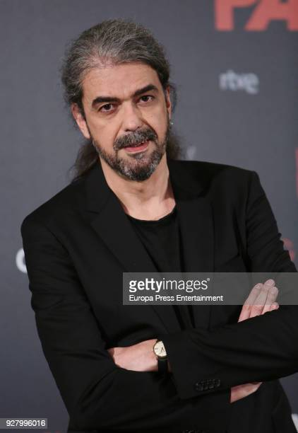 Fernando Leon de Aranoa attends 'Loving Pablo' photocall on March 6 2018 in Madrid Spain