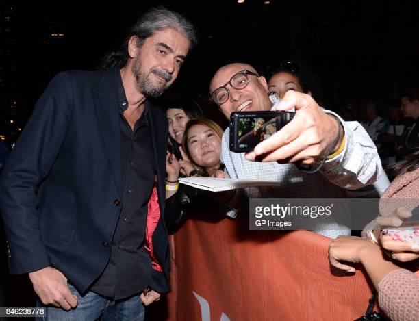 Fernando Leon de Aranoa attends the Loving Pablo premiere during the 2017 Toronto International Film Festival at Princess of Wales Theatre on...