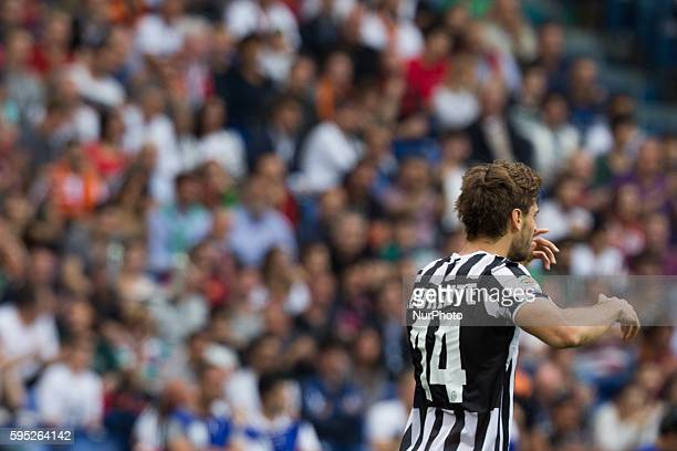 Fernando Llorente of Juventus FC during the Serie A match between AS Roma and FC Juventus on May 11 at Rome's Olympic Stadium
