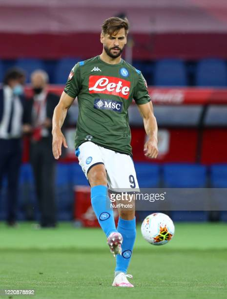 Fernando Llorente of Napoli during the Coca Cola Italian Cup Final football match SSC Napoli v Fc Juventus at the Olimpico Stadium in Rome Italy on...