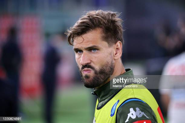 Fernando Llorente of Ssc Napoli during the Coppa Italia Final match between Ssc Napoli and Juventus Fc Ssc Napoli wins 42 over Juventus fc