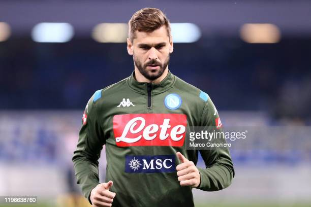 Fernando Llorente of Ssc Napoli looks on before the Serie A match between Ssc Napoli and Juventus Fc Ssc Napoli wins 21 over Juventus Fc