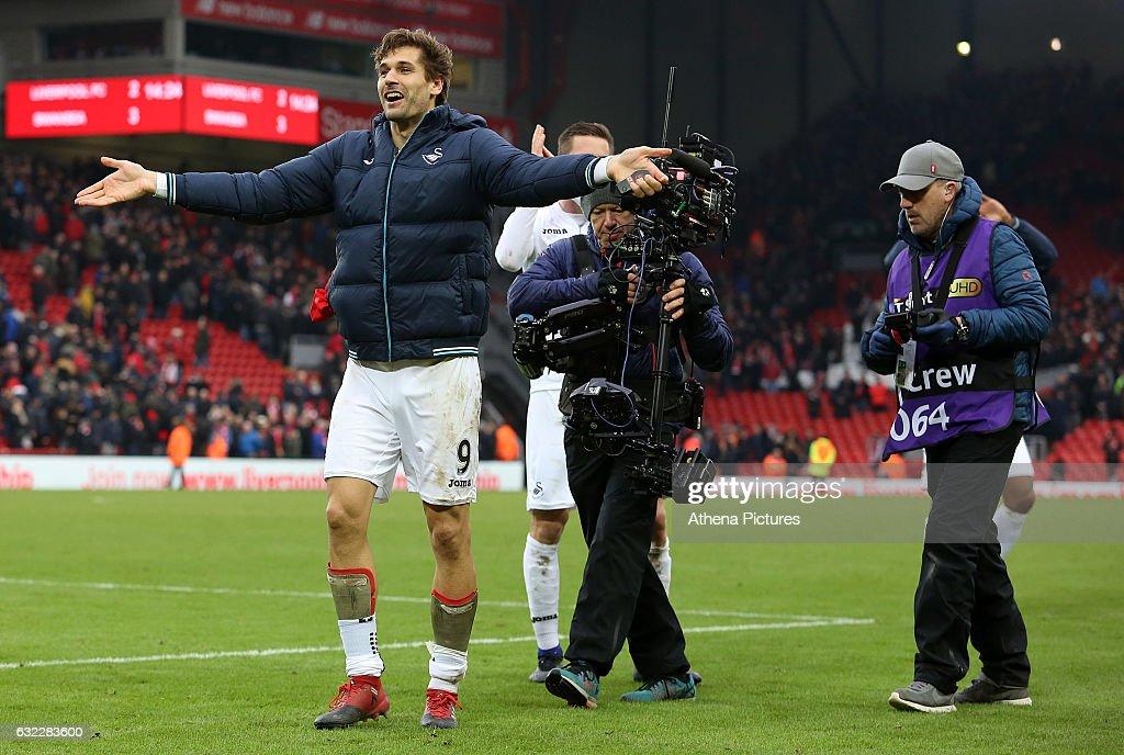 Liverpool v Swansea City - Premier League : ニュース写真