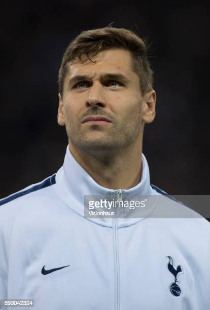 Fernando Llorente of Tottenham Hotspur before the UEFA Champions League group H match between Tottenham Hotspur and APOEL Nikosia at Wembley Stadium...