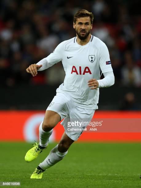 Fernando Llorente of Tottenham Hotspur during the UEFA Champions League group H match between Tottenham Hotspur and Borussia Dortmund at Wembley...