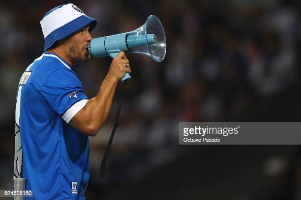 Fernando Madureira leader of the Super Dragões are the main FC Porto's supporters group during the PreSeason Friendly match between FC Porto and RC...