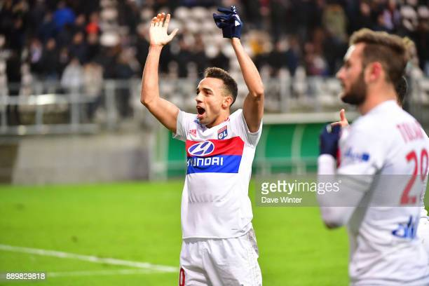 Fernando Marcal of Lyon following the Ligue 1 match between Amiens SC and Olympique Lyonnais at Stade de la Licorne on December 10 2017 in Amiens...