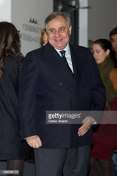 Fernando Martinez de Irujo attends El Legado Casa de Alba Art exhibition at the Palacio de Cibeles on December 18 2012 in Madrid Spain