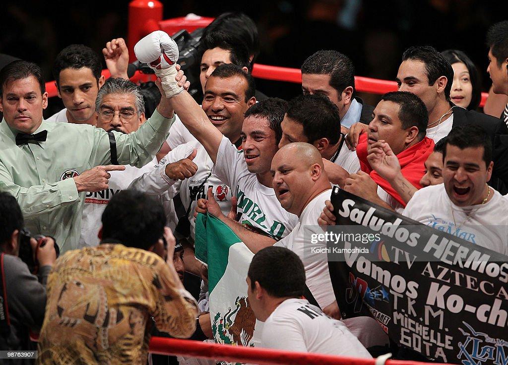 Hozumi Hasegawa v Fernando Montiel - WBC Bantamweight Title Fight