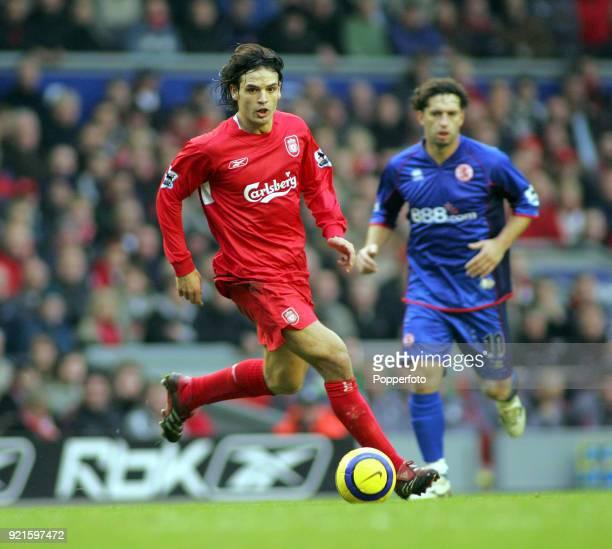 Download Liverpool Vs Middlesbrough 3 0 Epl Video: Fernando Morientes Photos Et Images De Collection