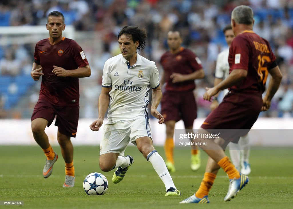 Real Madrid Legends v Roma Legends - Corazon Classic