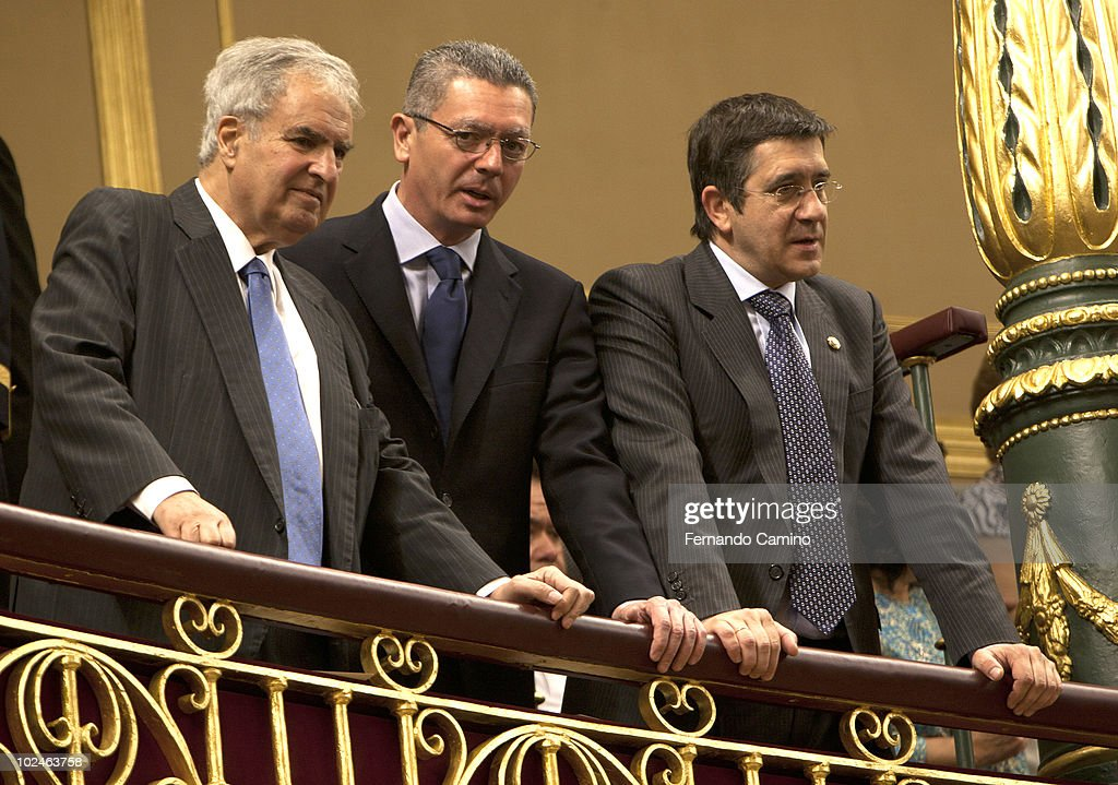 Spanish Royals Attend a Tribute To Terrorism Victims