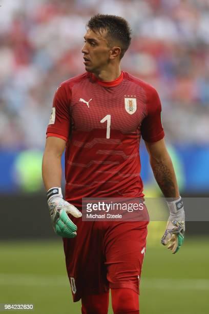 f53e03113ba Fernando Muslera of Uruguay during the 2018 FIFA World Cup Russia group A  match between Uruguay