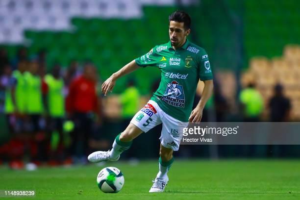 Fernando Navarro of Leon pose during the quarterfinals second leg match between Leon and Tijuana as part of the Torneo Clausura 2019 Liga MX at Leon...