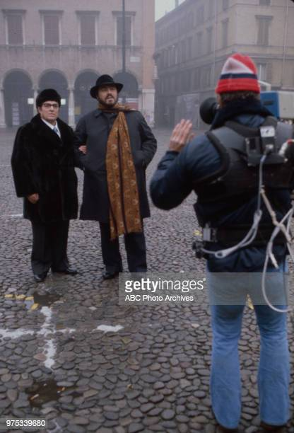 Fernando Pavarotti Luciano Pavarotti appearing on Walt Disney Television via Getty Images special 'Pavarotti Friends' March 29 1982