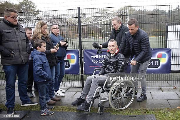 Fernando Ricksen during a photoshoot at sportpark Langeberg on November 13 2016 in Brunssum The Netherlands