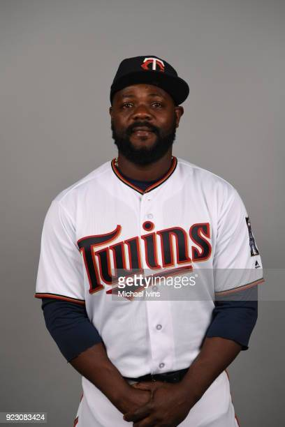 Fernando Rodney of the Minnesota Twins poses during Photo Day on Wednesday February 21 2018 at CenturyLink Sports Complex in Fort Myers Florida