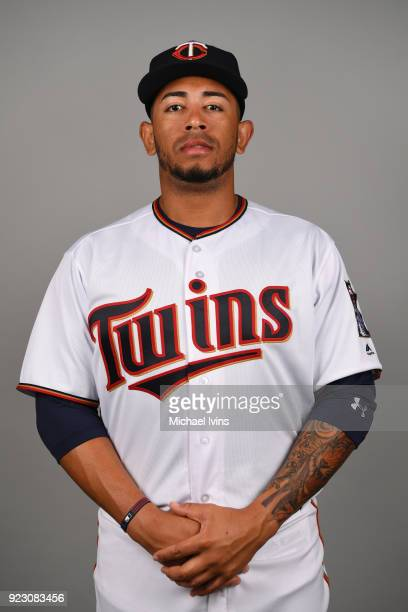 Fernando Romero of the Minnesota Twins poses during Photo Day on Wednesday February 21 2018 at CenturyLink Sports Complex in Fort Myers Florida