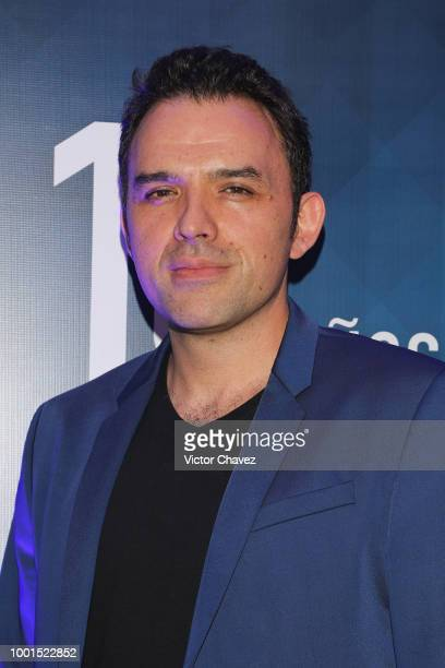Fernando Rovzar attends the HBO Latin America 15 Years celebration red carpet at Soumaya Museum on July 18 2018 in Mexico City Mexico