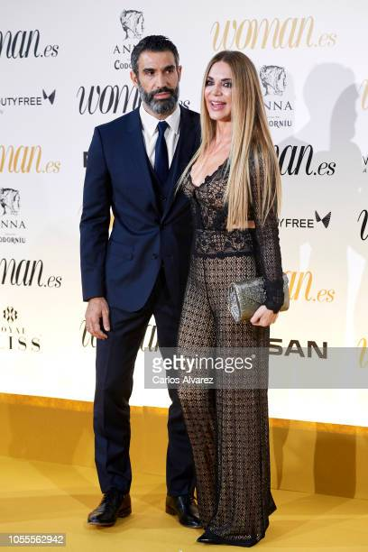 Fernando Sanz and Ingrid Asensio attend Woman awards 2018 at the Casino de Madrid on October 30 2018 in Madrid Spain