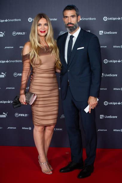 ESP: LaLiga Champions Gala Red Carpet In Madrid