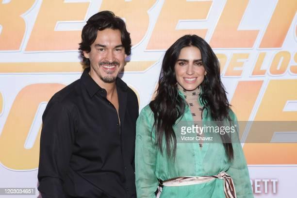 """Fernando Schoenwald and Barbara de Regil attend """"La Rebelion de los Godinez"""" Mexico City premiere red carpet at Cinepolis Plaza Carso on February 24,..."""