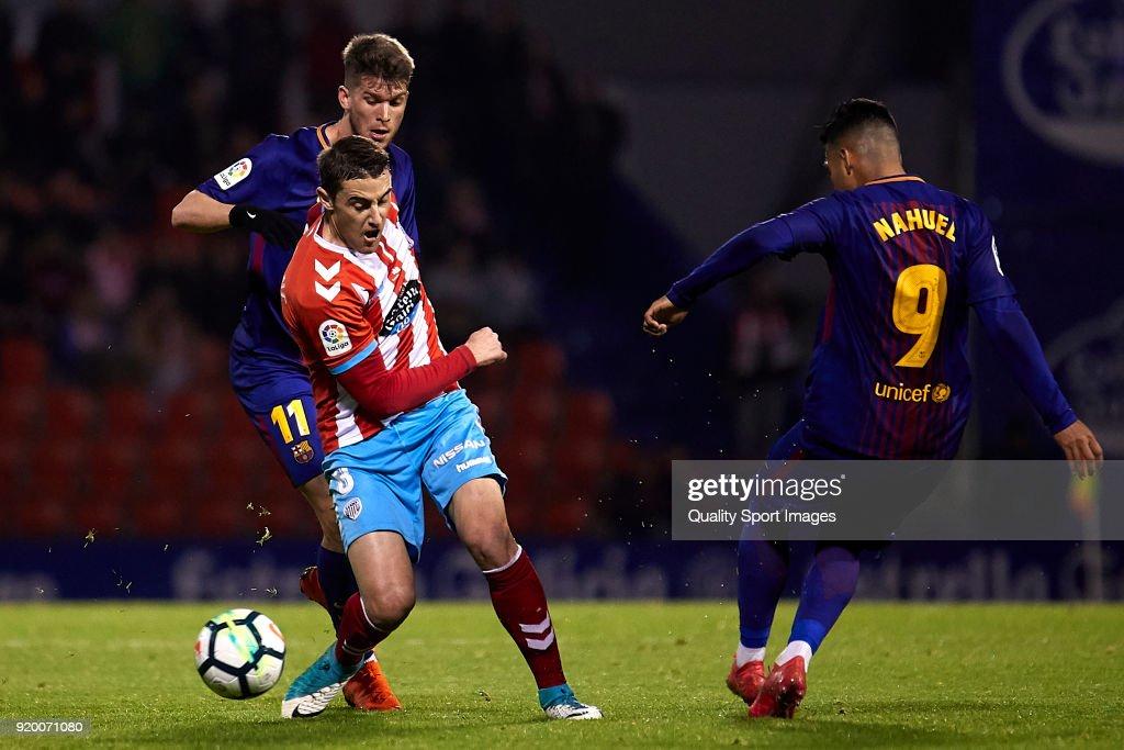 CD Lugo v FC Barcelona B - Liga 123