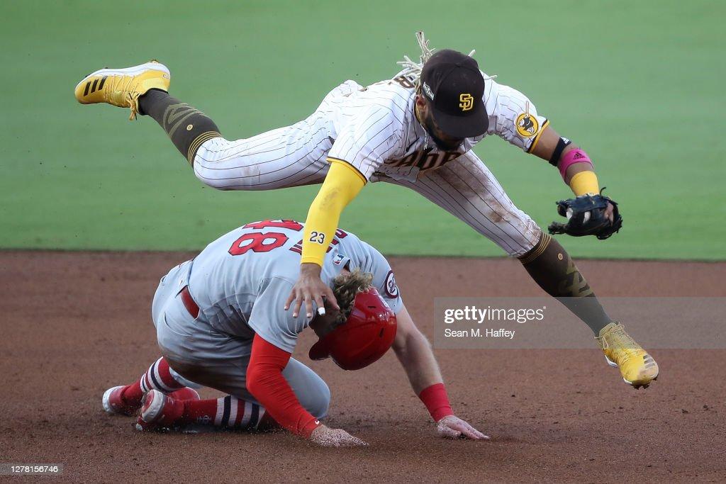 Wild Card Round - St Louis Cardinals v San Diego Padres - Game Three : ニュース写真