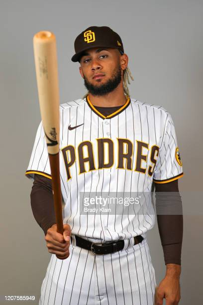 Fernando Tatis Jr #23 of the San Diego Padres poses for a photo during Photo Day at Peoria Sports Complex on February 20 2020 in Peoria Arizona