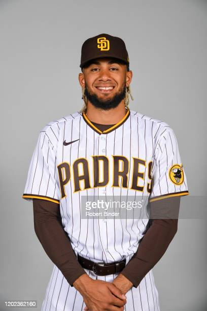 Fernando Tatis Jr of the San Diego Padres poses during Photo Day on Thursday February 20 2020 at the Peoria Sports Complex in Peoria Arizona