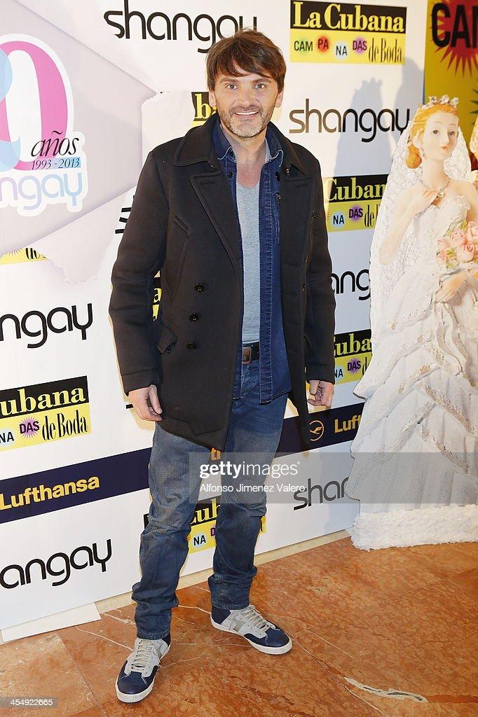 Fernando Tejero attends Shangay Magazine 20th Anniversary in Madrid at teatro Nuevo Alcala on December 10, 2013 in Madrid, Spain.