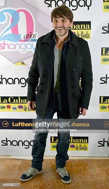 Fernando Tejero attends Shangay Magazine 20th Anniversary on December 10 2013 in Madrid Spain