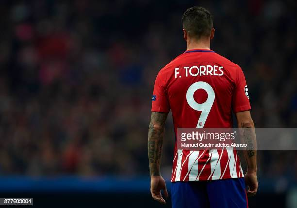 Fernando Torres of Atletico de Madrid during the UEFA Champions League group C match between Atletico Madrid and AS Roma at Estadio Wanda...