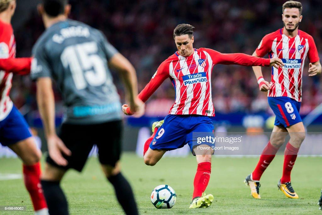 La Liga 2017-18 - Atletico de Madrid vs Malaga CF : News Photo