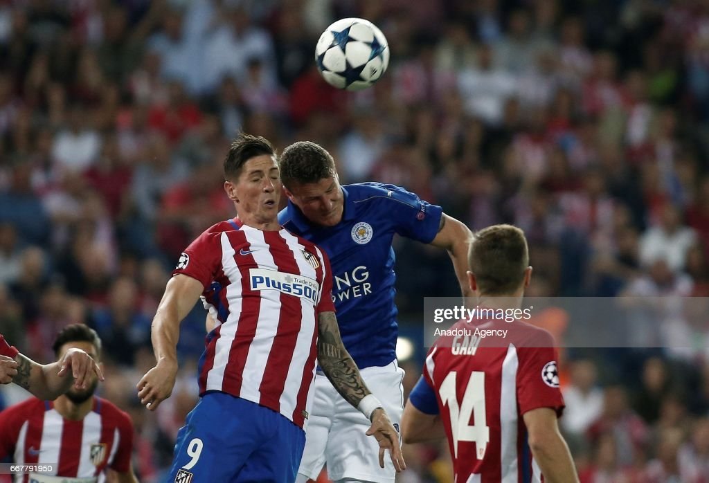 Atletico Madrid  Leicester City: Champions League : News Photo