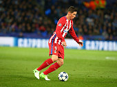 fernando torres atletico madrid during uefa