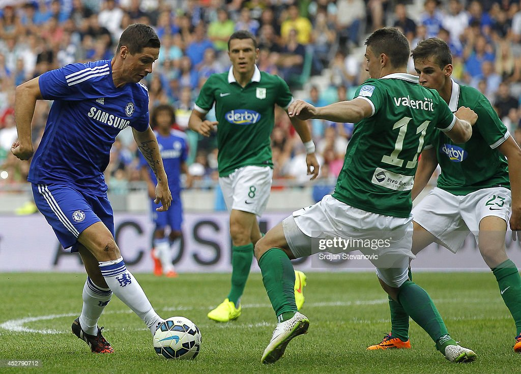 Olimpija Ljubljana v Chelsea - Pre Season Friendly : News Photo