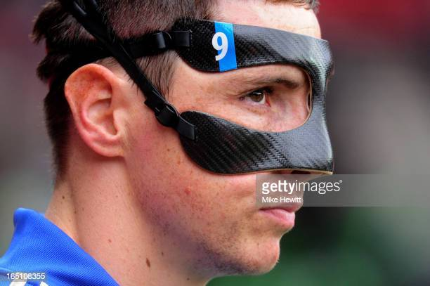 Fernando Torres of Chelsea looks on during the Barclays Premier League match between Southampton and Chelsea at St Mary's Stadium on March 30 2013 in...