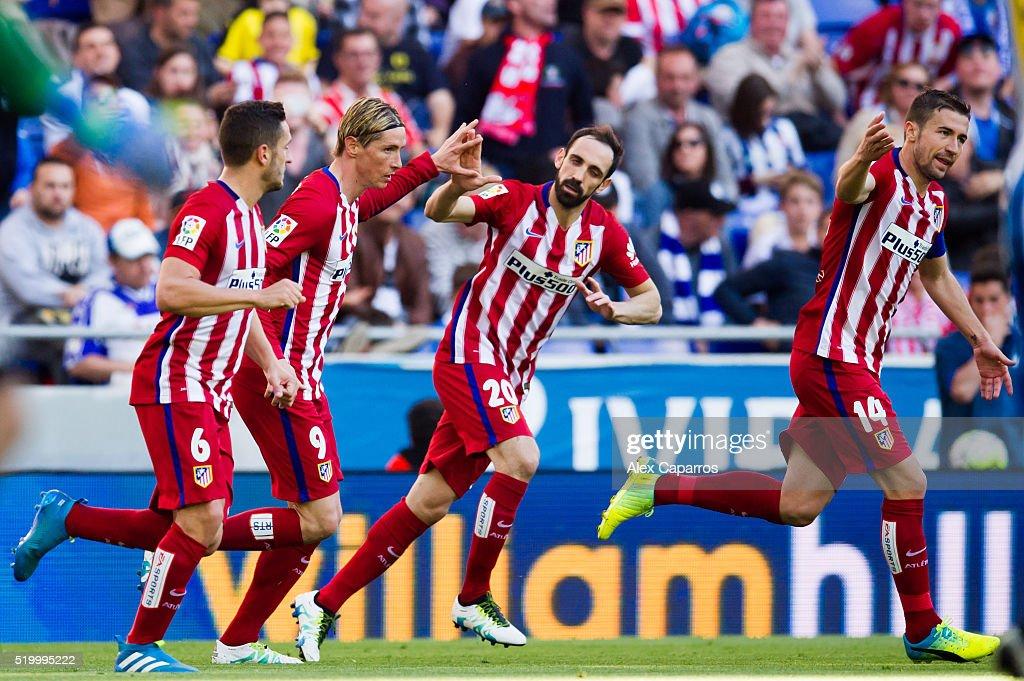 Real CD Espanyol v Club Atletico de Madrid - La Liga : News Photo